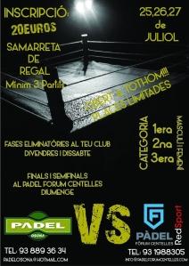 cartell padel forum